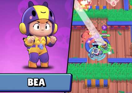 New brawler: Bea