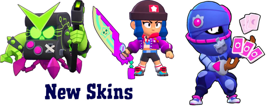 New Skins