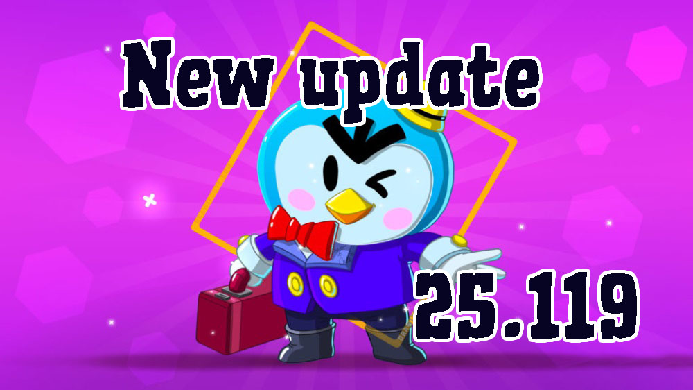 update Brawl stars 25.119